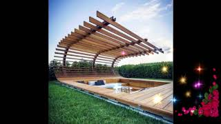 Best Wooden Fence Ideas, Wooden Fence Ideas For Beautiful Home, Exterior Backyard Design Ideas #3