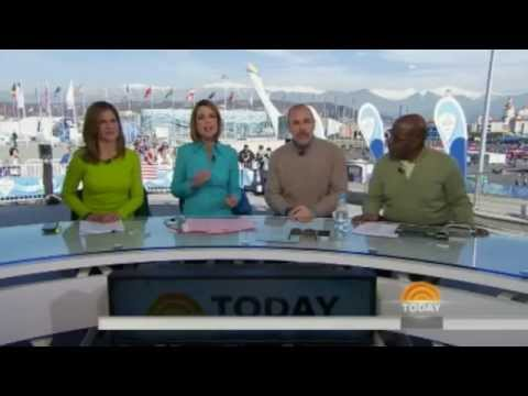 NBC News : TODAY Show Open Winter Olympics Games - Hollande 02-12-2014