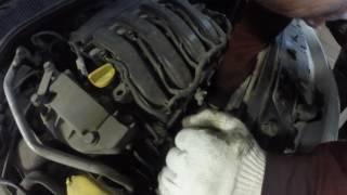 #3!Renault Megane 1.6L. замена масла и масленого фильтра.