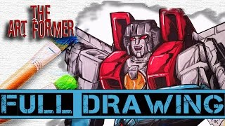 The Art Former: Starscream FULL DRAWING