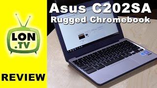 """ASUS Chromebook C202SA Review - 11"""" $200 Ruggedized for Education"""
