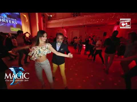 Shinto & Viktorija - social dancing @ Magic Slovenian Salsa Festival 2018