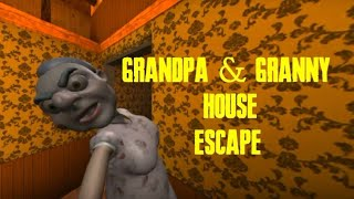 GRANDPA AND GRANNY HOUSE ESCAPE FULL GAMEPLAY ANDROID