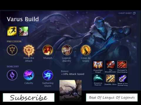 Varus Build Season