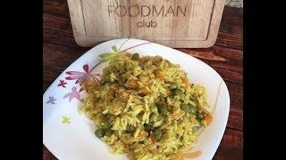 Жареный острый рис с карри: рецепт от Foodman.club