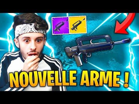 """🔴 Nouvelle ARME """"FAMAS"""" DISPONIBLE sur FORTNITE: Battle Royale !! (TOP 1 = 1 DANSE)"""