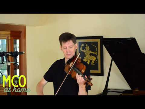 Karl Stobbe performs Heinrich's Biber's Passacaglia for Solo Violin
