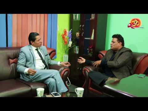 """Hello Namaste"" with Rishi Dhamala # Host by  Nirmal Sharma  (Exclusive Interview )"