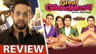 Great Grand Masti Review by Salil Acharya   Riteish, Vivek, Aftab, Urvashi   Full Movie Rating