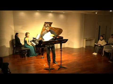 Vincent Lucas(flûte) à AKASAKA STRAD HALL le 12 novembre 2019