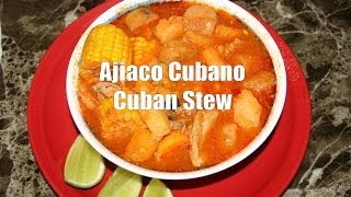 Ajiaco(caldosa) Cubano Comida Facil / Easy Cuban Stew For Cold Days.