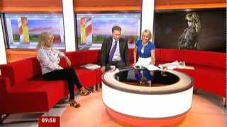Samantha Fox : BBC Breakfast Interview, 18th August 2012