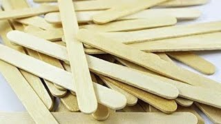 3 USEFUL things you can make with ice cream sticks