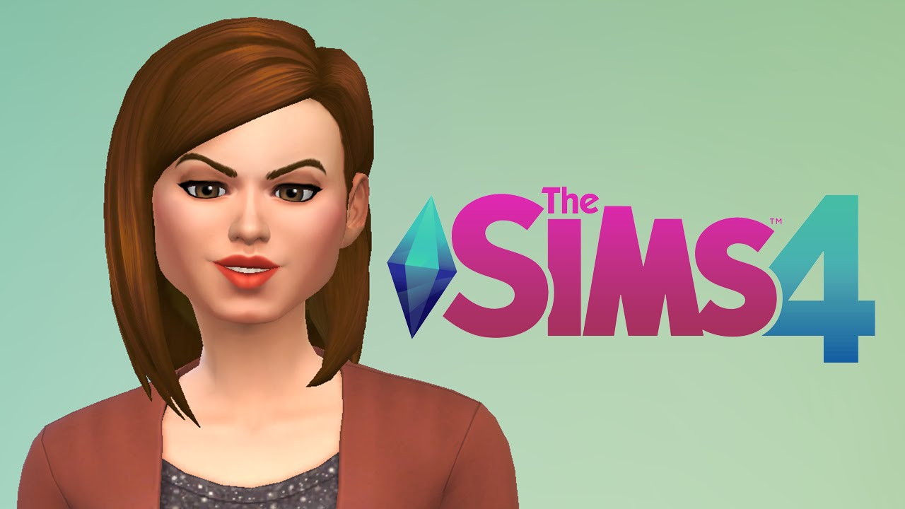 the sims 4 create a sim my first family part1 youtube