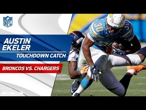 Denver Cant Stop Austin Ekeler on this Big TD Drive!  Broncos vs Chargers  NFL Wk 7 Highlights