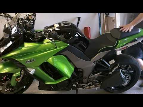 Ninja 1000 Z1000 Z1000sx Seat Review Sargent Gel And Air Hawk