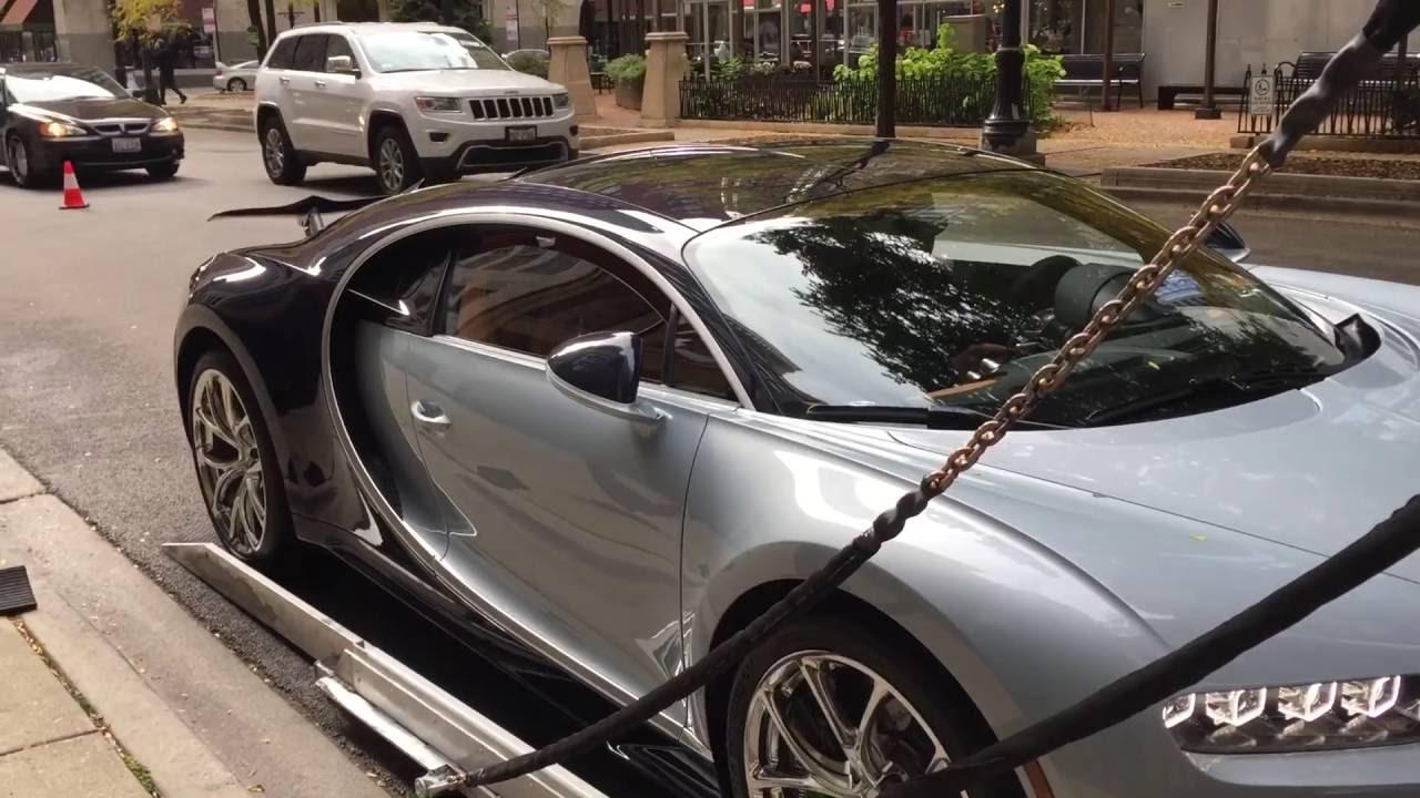 bugatti chiron delivery to bugatti of chicago youtube. Black Bedroom Furniture Sets. Home Design Ideas