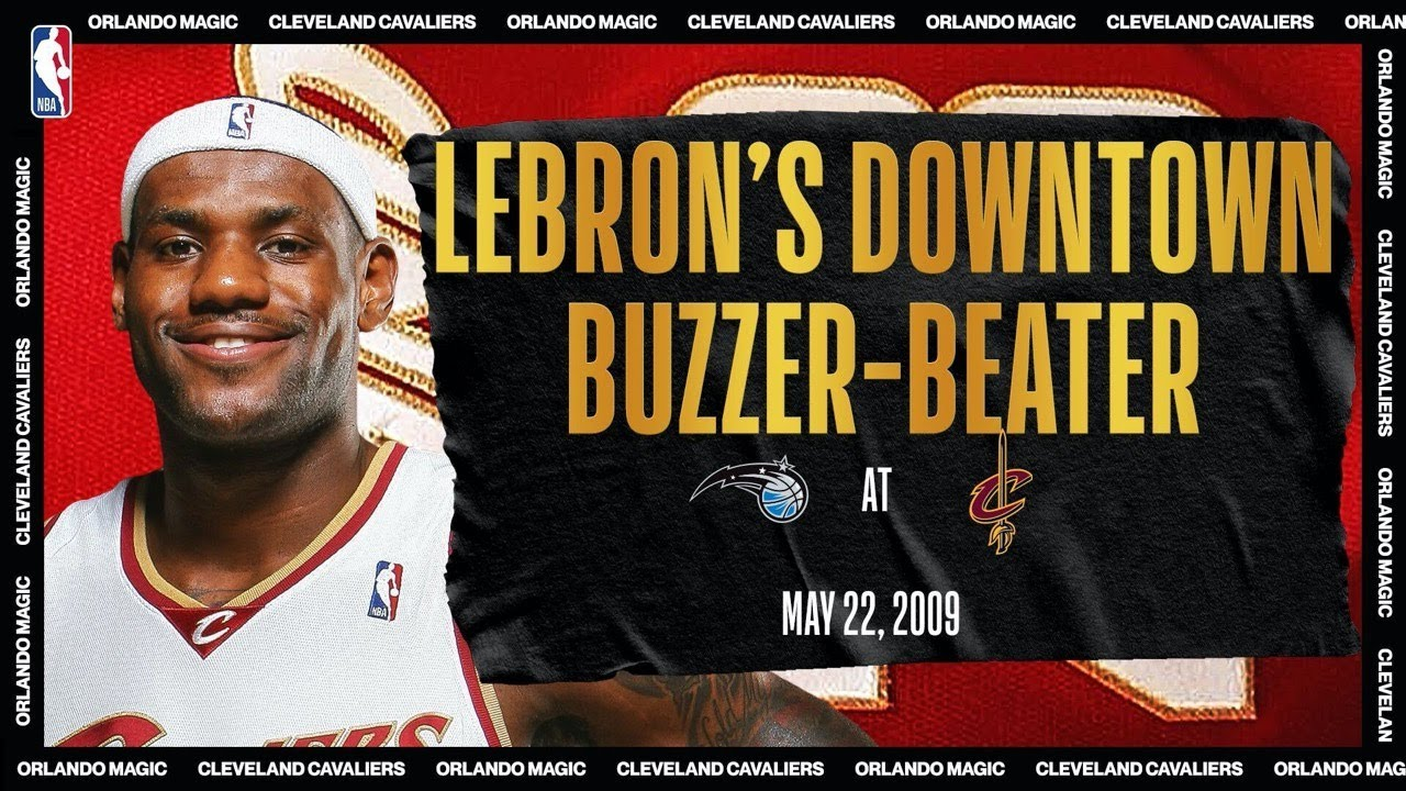 LeBron's 1st Playoff #TissotBuzzerBeater | #NBATogetherLive Classic Game