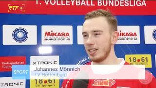 Volleyball 1. Bundesliga TV Rottenburg vs. SVG Lüneburg - Mehr Beiträge zur Volleyball Bundesliga auf Sporttotal.tv