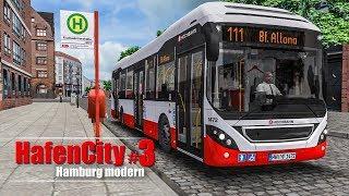 OMSI 2: Hamburg HafenCity #3 - Durch die Speicherstadt mit dem Volvo 7900 H!   BUS-SIMULATOR