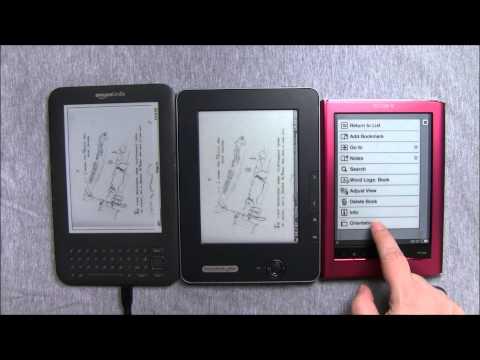 PDFs, Sony, Pocketbook, Kindle... who