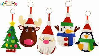 Felt Craft - Merry Christmas Santa Plushie Easy Sewing Fun