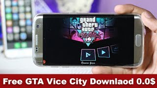 Grand Theft Auto Free Download Android Mobile 1000% | GTA Vice City Free Install | Technical Pk