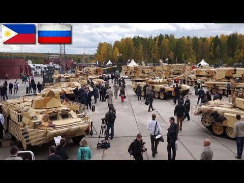 For The First Time Russia Will Display Military Equipment At Exhibitions In The Philippines