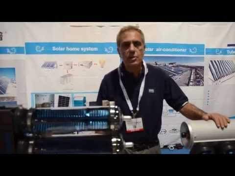 SunChiller - Solar Thermal @ Solar Power International conference 2014