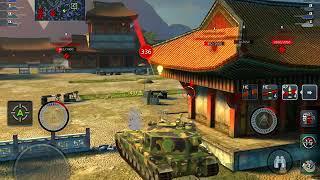 [ 60fps ] World of Tanks Blitz FV215b 183 // Update 4.3 UI & 120fps