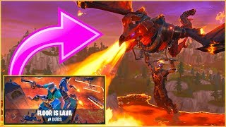 FORTNITE LAVA GAMEMODE! | Dansk Fortnite