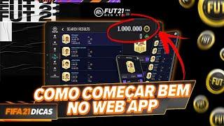 COMO COMEÇAR BEM NO WEB APP *FAÇA 50K POR DIA*   FIFA 21 ULTIMATE TEAM