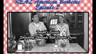 Real American Vegan Barbecue: Strawberry Shortcake With Cashew Cream
