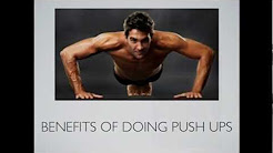 Benefits of Doing Push Ups