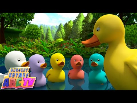 Five Little Ducks | 3D Rhyme: Five Little Ducks nursery rhyme in beautiful 3D animation   Enjoy our version of the old classic