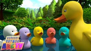 Five Little Ducks | 3D Rhyme