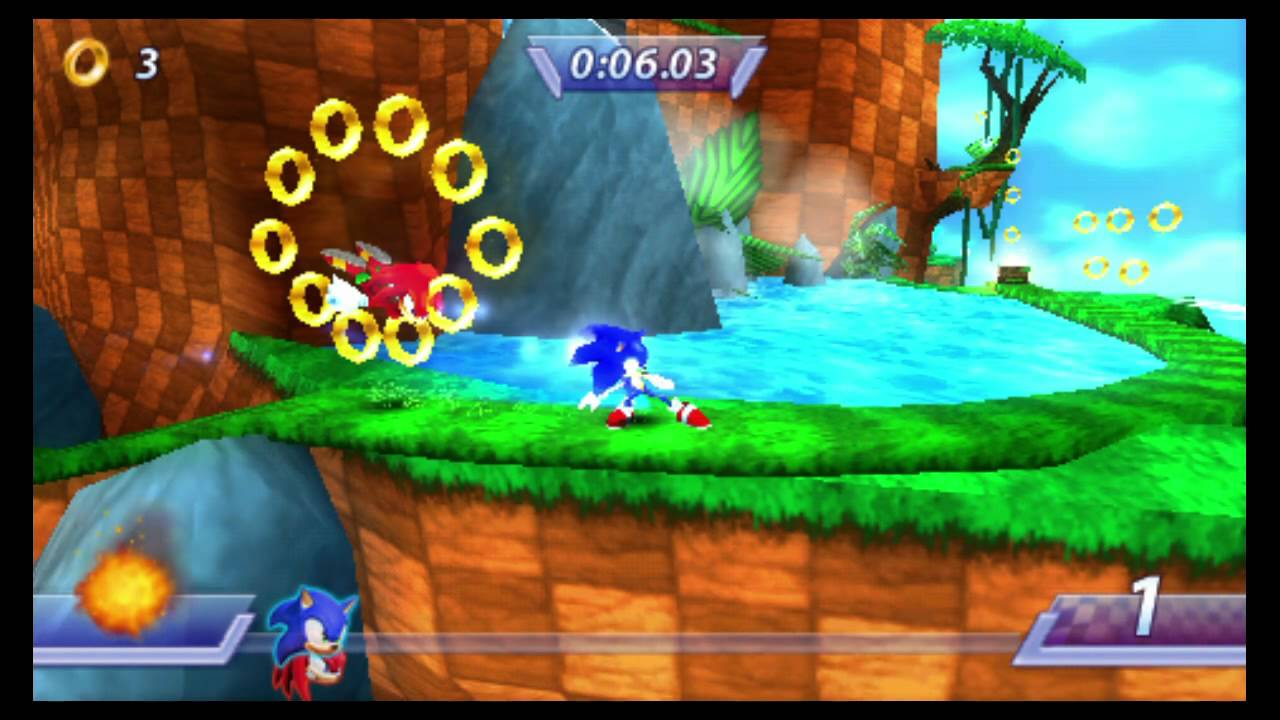 Sonic Rivals Psp Playstation Tv Gameplay Youtube