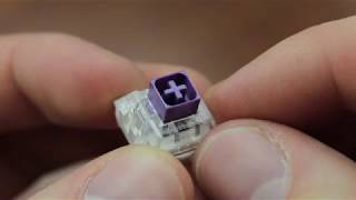 Teardown - Novelkeys x Kailh BOX Royal switches!