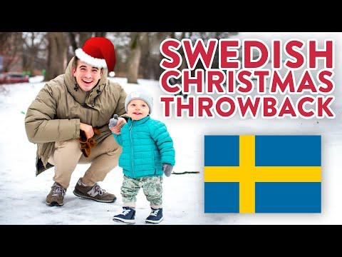 Swedish Christmas THROWBACK!! - Merry Christmas Everyone!