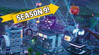 Fortnite Saison 9 Battle Pass Gameplay ! (Exploring NEW Neo Tilted et Mega Mall)