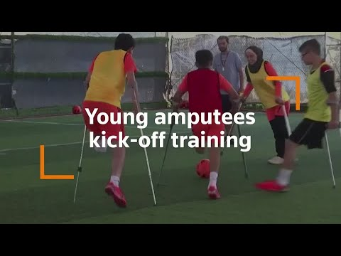 Training kicks off again for young Gaza amputees