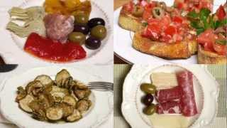 Antipasto/Antipasti - Samples of Authentic Southern Italian Antipasti (Med Diet Episode 11)