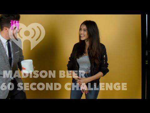 "Madison Beer - ""60 Second Challenge"" Interview | Artist Challenge"