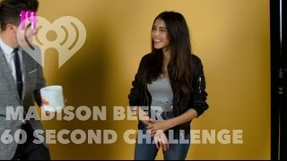 Madison Beer Plays 60 Sec Challenge Interview | Artist Challenge