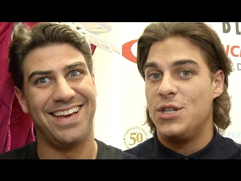 TOWIE Jon & Chris Clark Interview 2016