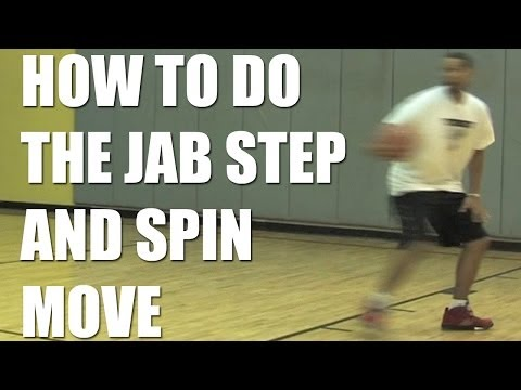 Basketball Tips: Jab Steps and Spin Moves with Jared Dudley