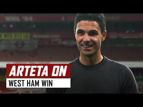 'I'm happy with the points but we have things to improve'' | Arsenal 2-1 West Ham | Mikel Arteta