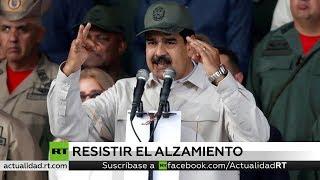 Nicolás Maduro asegura que todos los mandos militares le son leales
