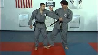Hapkido Belt Grap Thumb Down Techniques 1 thru 4