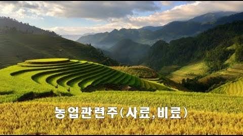 농업쪽이 수상하다 비료관련주부터 사료관련주까지 같이보자!! 중국때문에 먼가가 구리다 한번 유심히 지켜보셔도 좋을것 같습니다~^^